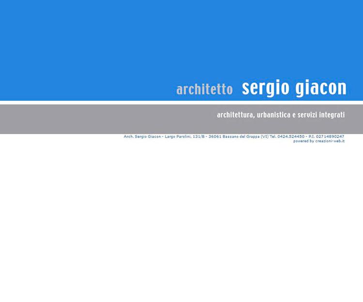 Studio di Architettura Sergio Giacon
