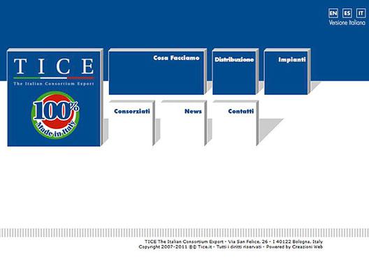 TICE The Italian Consortium Export